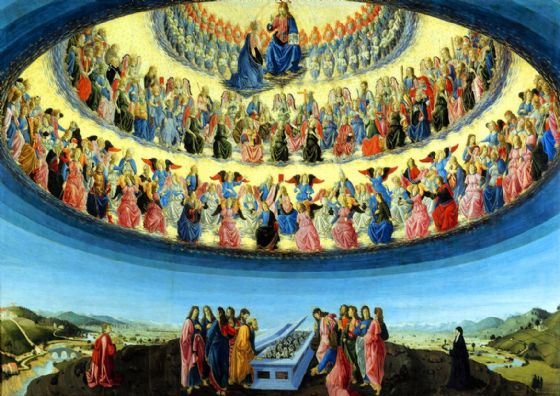 Botticini, Francesco: Assumption of the Virgin. Fine Art Print/Poster (5380)